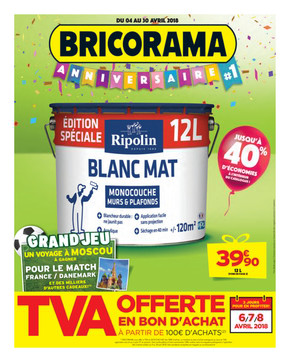 Catalogue Bricorama