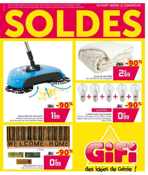 Derniers catalogues Gifi