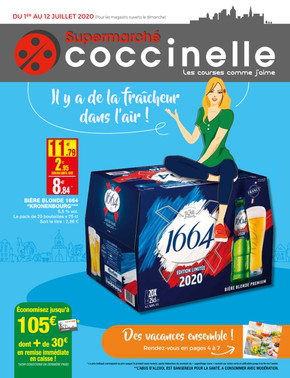 Catalogue coccinelle Supermarchés