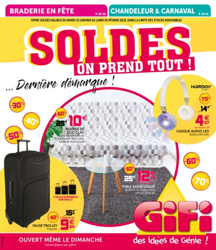 Catalogue Gifi: promos et magasins