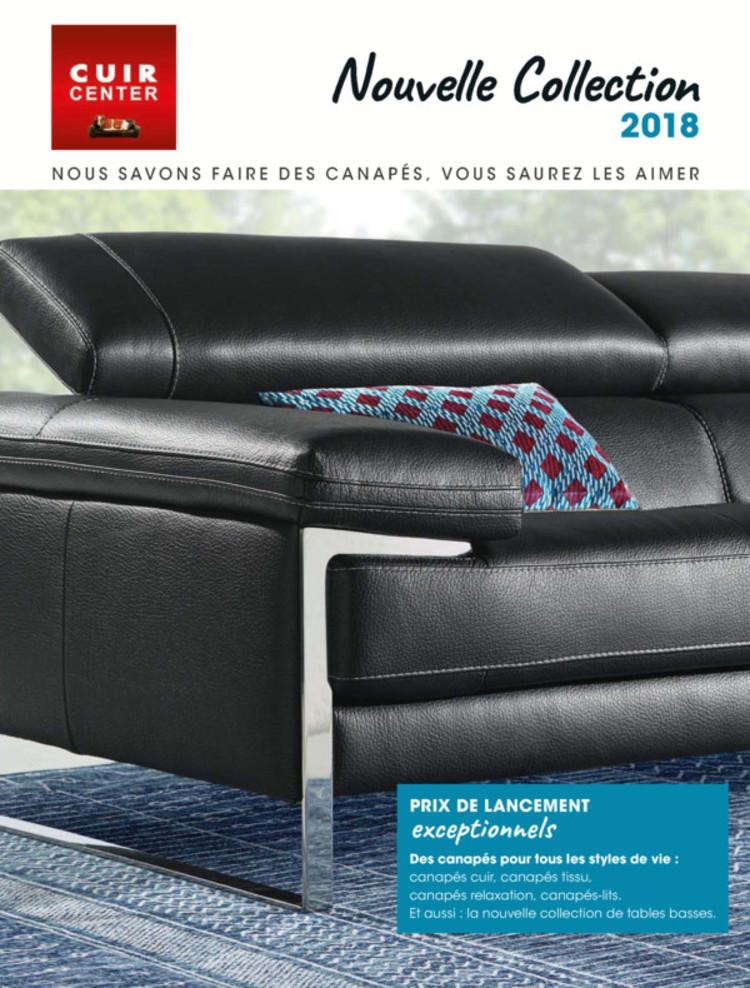 catalogue cuir center lyon promos et horaires - Prix Canape Cuir Center